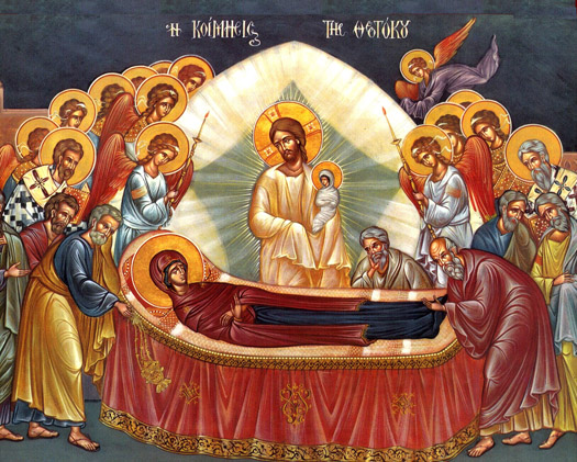 The celebration of the Dormition of the Theotokos in Singapore