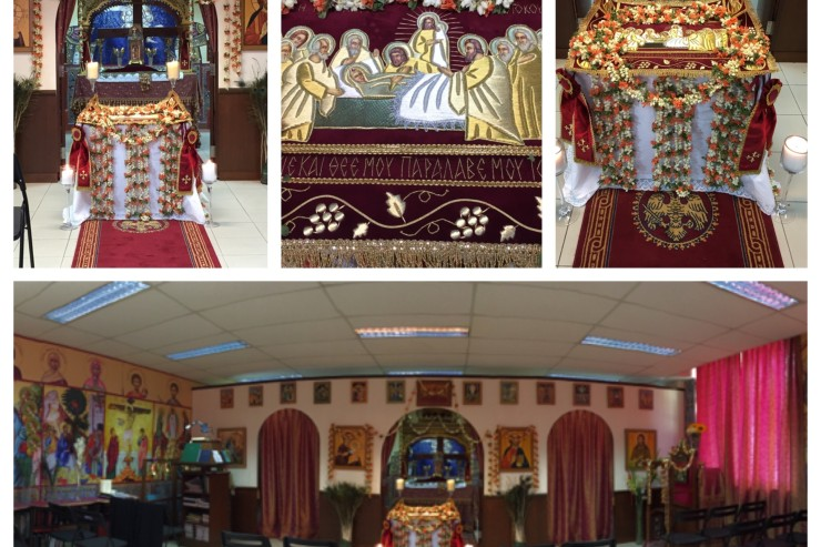 Feast of the Dormition of the Theotokos - Singapore 2015