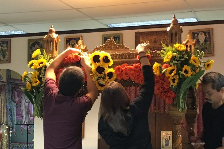 Holy Week 2016 - Decorating of the Epitaphios